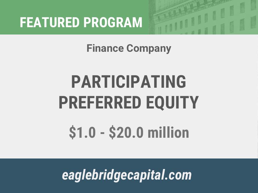 Participating Preferred Equity Program (ID: PE7702